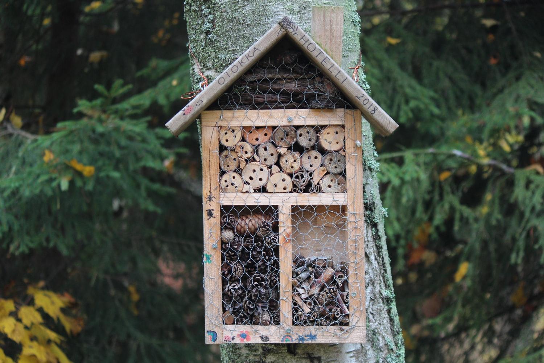 Insektenhotel am Baum