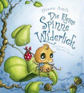 Cover Diana Amft Die kleine Spinne Widerlich