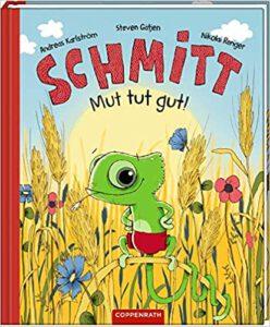 Buchcover Schmitt Mut tut gut von Steven Gätjen